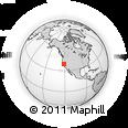 Outline Map of ZIP Code 95608