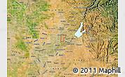 Satellite Map of ZIP code 95610