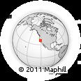 Outline Map of ZIP Code 95610