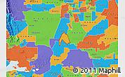 Political Map of ZIP code 95615