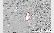 Gray Map of ZIP code 95623