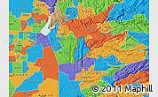 Political Map of ZIP code 95623