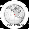 Outline Map of ZIP Code 95623