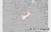 Gray Map of ZIP code 95624