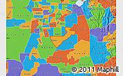 Political Map of ZIP code 95624