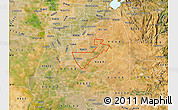 Satellite Map of ZIP code 95624