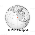 Outline Map of ZIP Code 95624