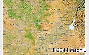 Satellite Map of ZIP code 95626