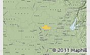 Savanna Style Map of ZIP code 95626