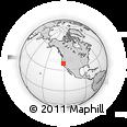 Outline Map of ZIP Code 95626