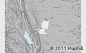 Gray Map of ZIP code 95627