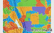 Political Map of ZIP code 95627
