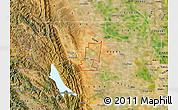 Satellite Map of ZIP code 95627