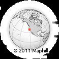 Outline Map of ZIP Code 95627