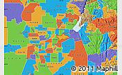 Political Map of ZIP code 95628