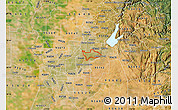 Satellite Map of ZIP code 95628