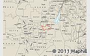 Shaded Relief Map of ZIP code 95628