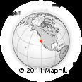 Outline Map of ZIP Code 95628