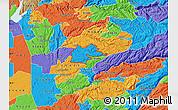 Political Map of ZIP code 95629