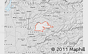 Silver Style Map of ZIP code 95629
