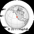 Outline Map of ZIP Code 95629