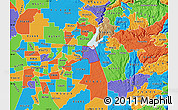 Political Map of ZIP code 95630