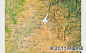 Satellite Map of ZIP code 95630