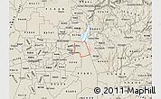 Shaded Relief Map of ZIP code 95630