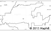 Blank Simple Map of ZIP code 95632