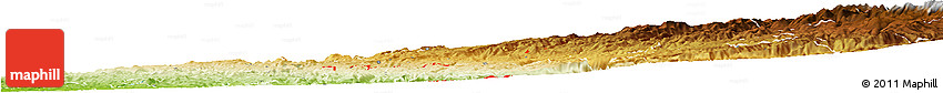 Physical Horizon Map of ZIP Code 95634