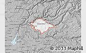 Gray Map of ZIP code 95634