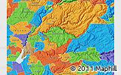 Political Map of ZIP code 95634