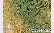 Satellite Map of ZIP code 95634