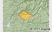 Savanna Style Map of ZIP code 95634