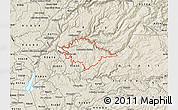 Shaded Relief Map of ZIP code 95634