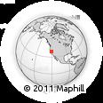 Outline Map of ZIP Code 95634
