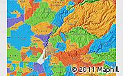 Political Map of ZIP code 95635