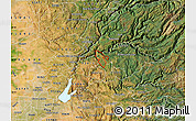 Satellite Map of ZIP code 95635