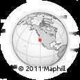 Outline Map of ZIP Code 95635