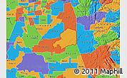 Political Map of ZIP code 95638