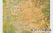 Satellite Map of ZIP code 95638