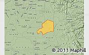Savanna Style Map of ZIP code 95638