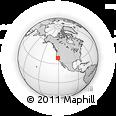 Outline Map of ZIP Code 95638