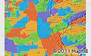Political Map of ZIP code 95640
