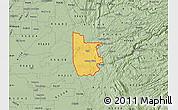 Savanna Style Map of ZIP code 95640