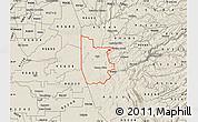 Shaded Relief Map of ZIP code 95640