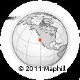 Outline Map of ZIP Code 95640
