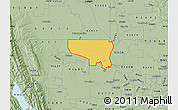 Savanna Style Map of ZIP code 95645