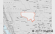 Silver Style Map of ZIP code 95645