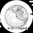 Outline Map of ZIP Code 95645